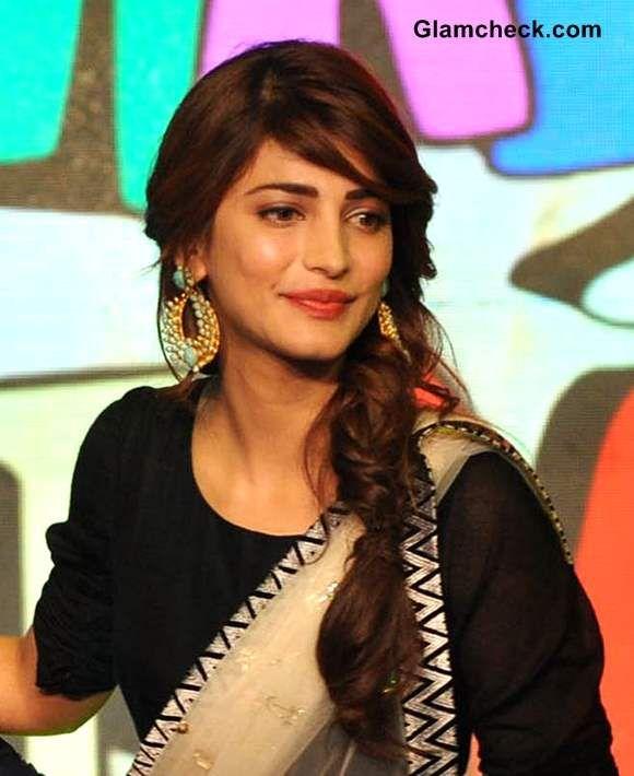 Fishtail Braid With Gajra Google Search Punjabi Hairstyles Hair Styles Hairdo Wedding