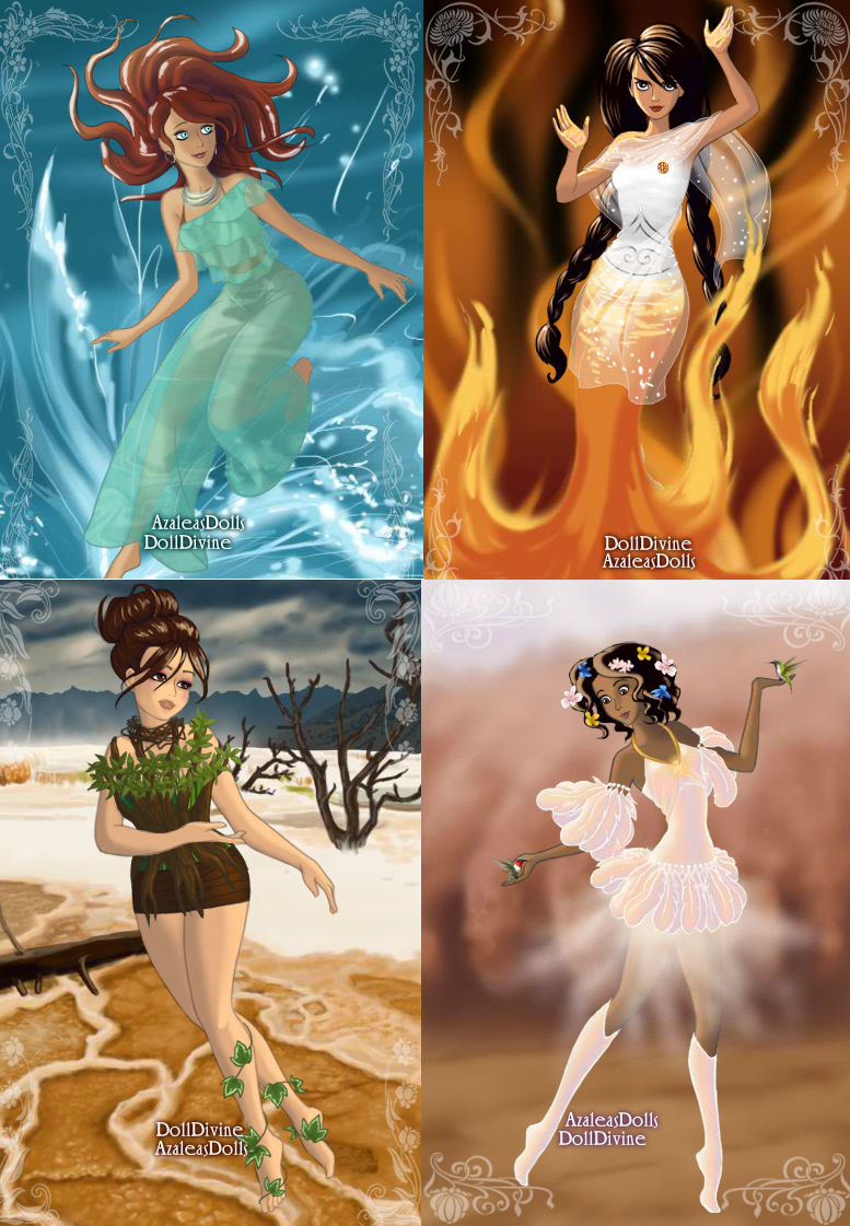 Dress up elements - It Takes Someone Really Obsessed To Turn A Dress Up To The Elements Game Into Hunger