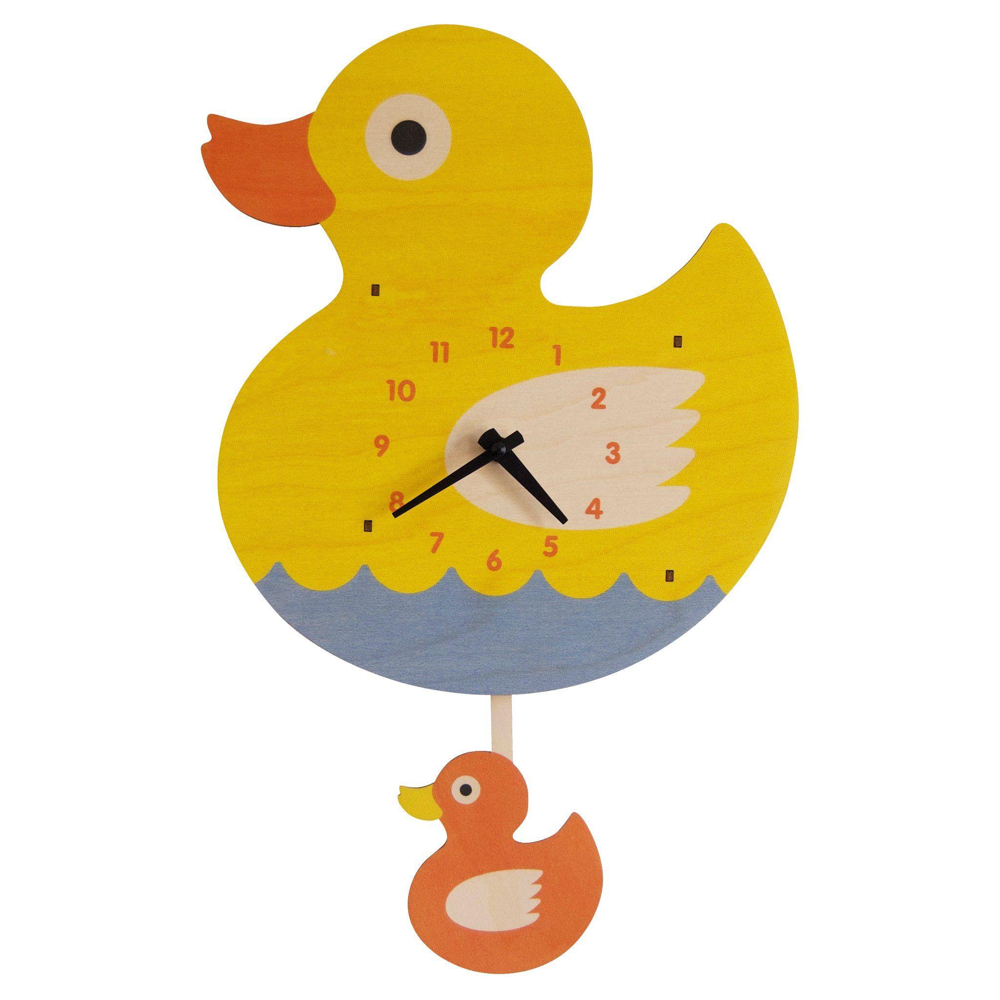 Ducky Pendulum Clock Pendulum Clock Clock Photo Wall
