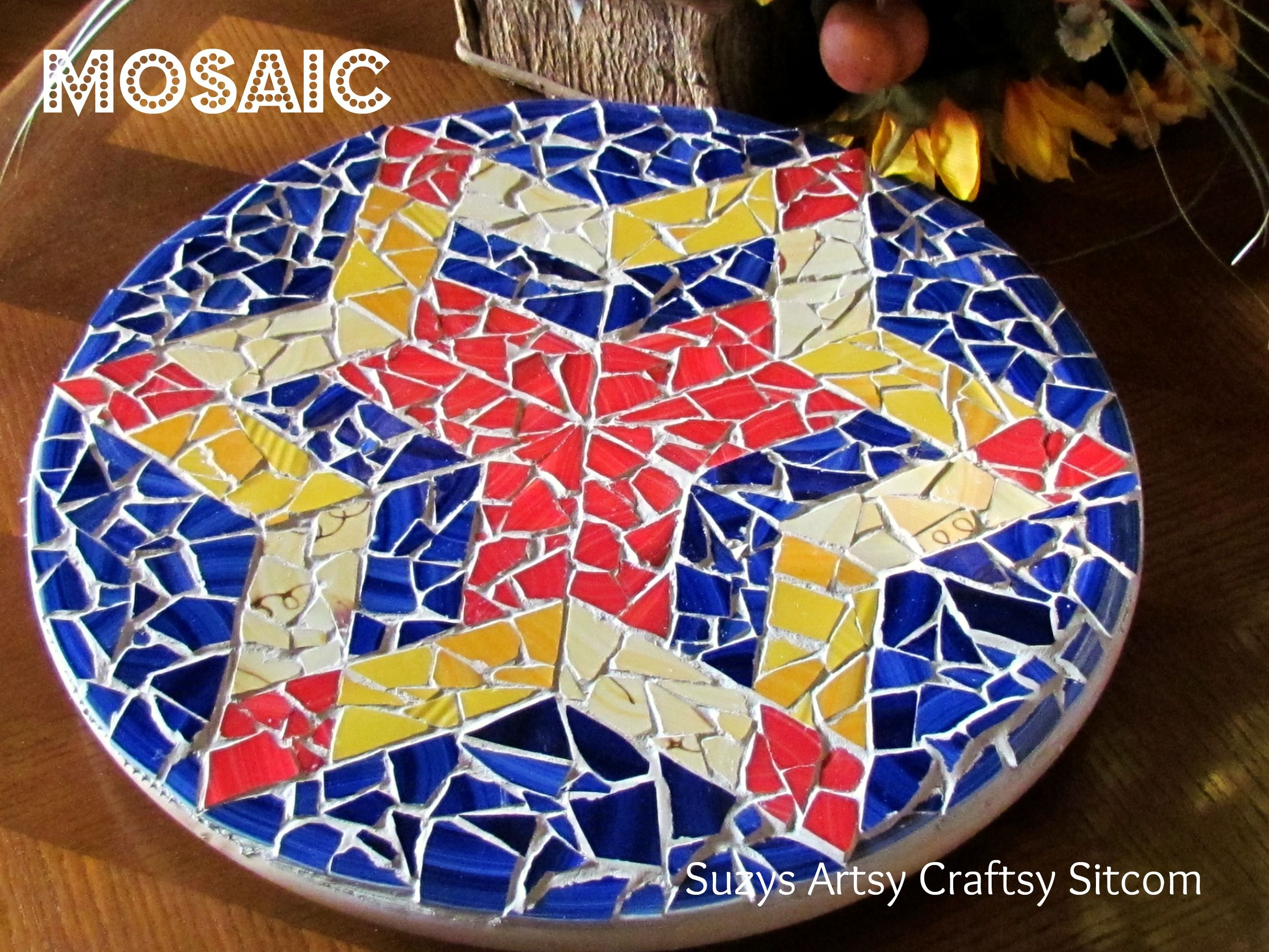 Creating mosaics the easy way mosaic diy diy tutorial and mosaics creating mosaics the easy way i think i could even do this dailygadgetfo Images