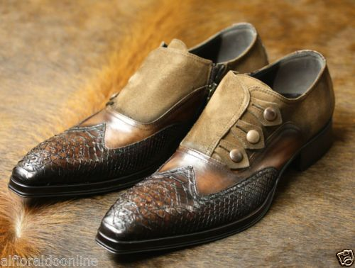 Jo Ghost Leather Shoes Designer Shoes Made in Italy Python