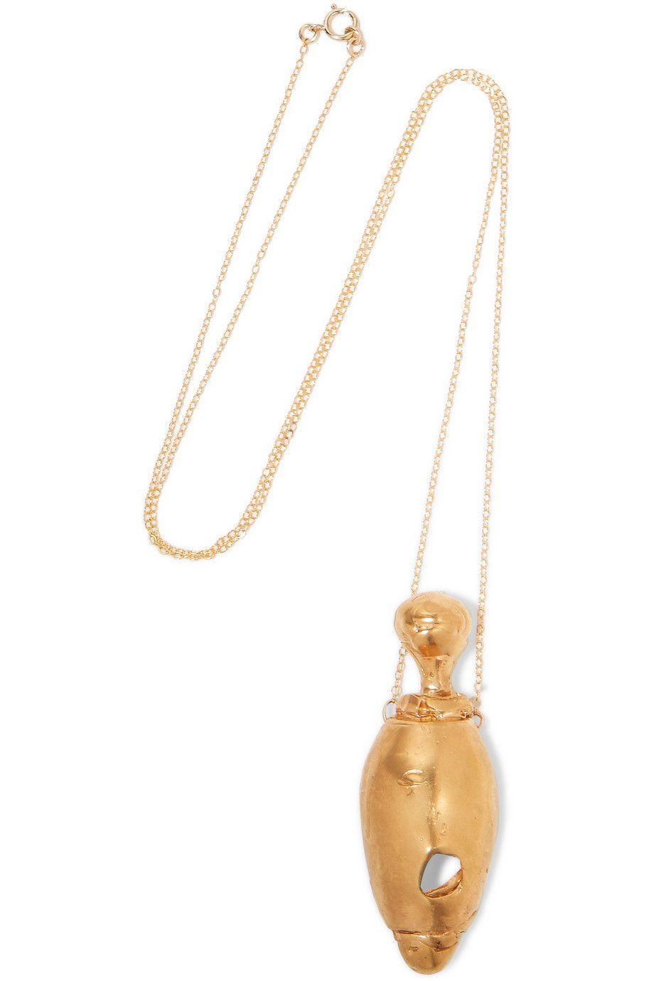 ALIGHIERI La Francesca Gold-plated Necklace DLqK7pxMZ