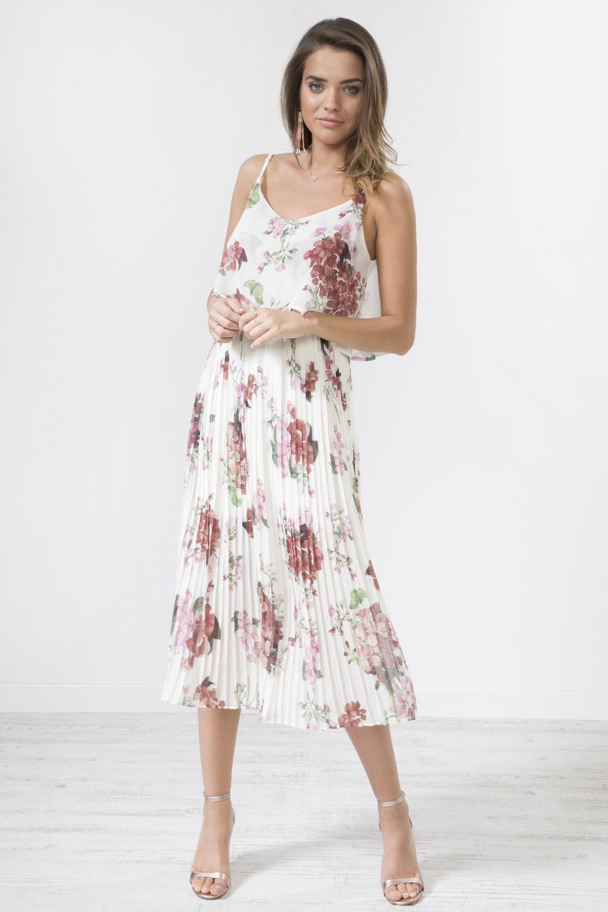 Park Art My WordPress Blog_White Summer Dress With Red Flowers