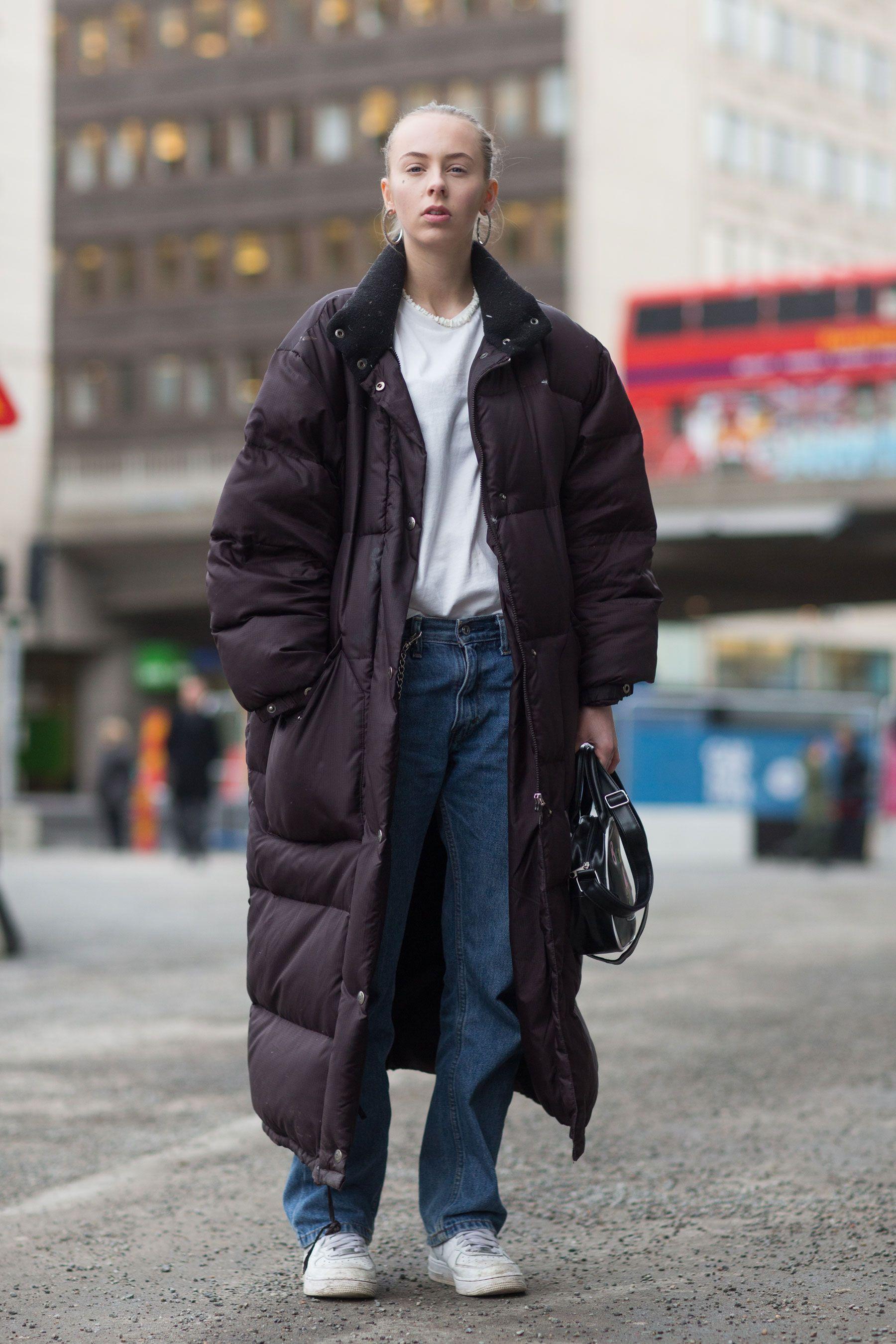 Stockholm Streetstyle Puffer Jacket Coat