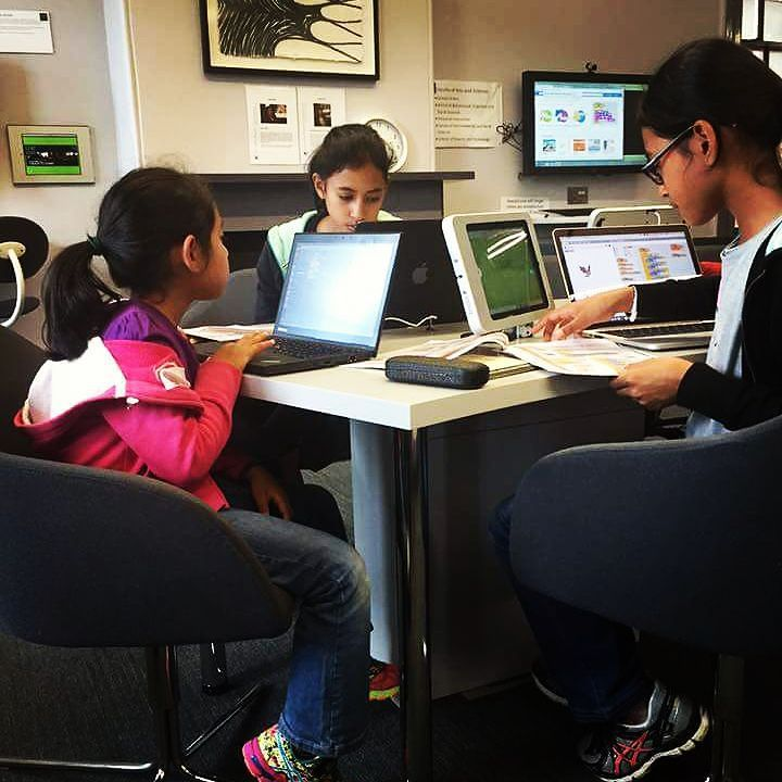 Something we loved from Instagram! These cuties are coding at the #coderdojo in #parramatta. #coderdojoparramatta #rydekids #whatsoninsydney #whatsonforkids #whatsonnearryde #html #css #javascript #python #php #raspberrypi #freelearning #problemsolving #encouraging #childrenofourfuture by rydekids Check us out http://bit.ly/1KyLetq