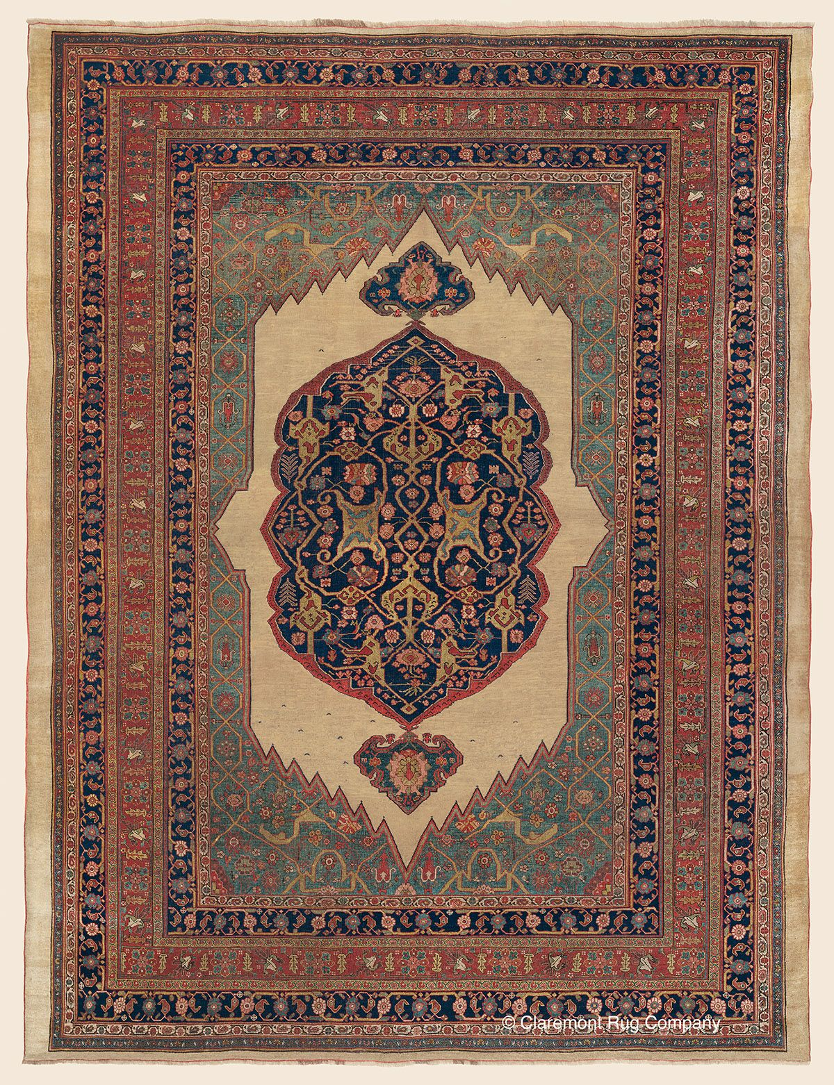 Featured Antique Art Rug Of The Day An