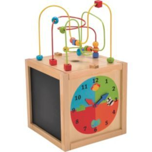 Buy Early Learning Centre Wooden Activity Cube at Argos.co ...