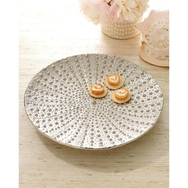 Michael Aram Sea Urchin Platter ($160) ❤ liked on Polyvore ...