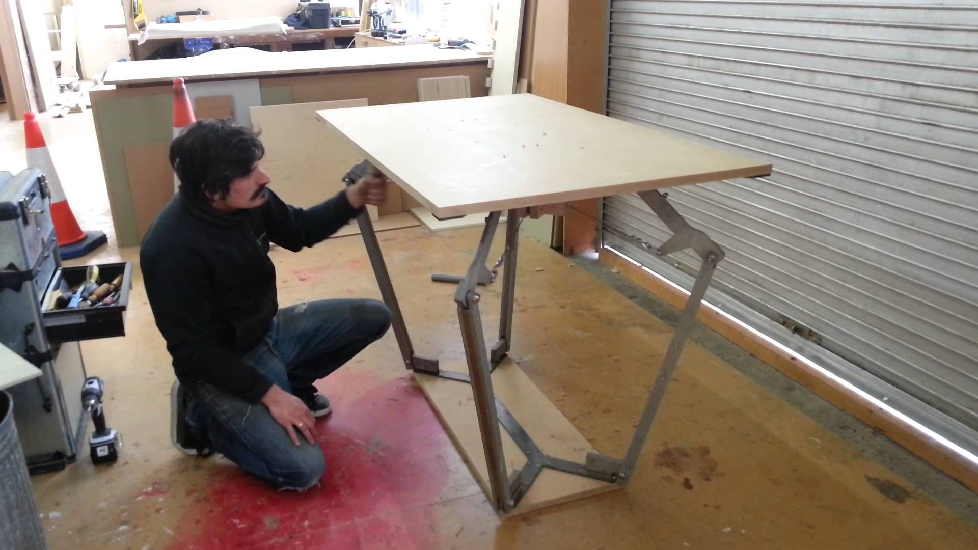 Height Adjustable Table (prototype)