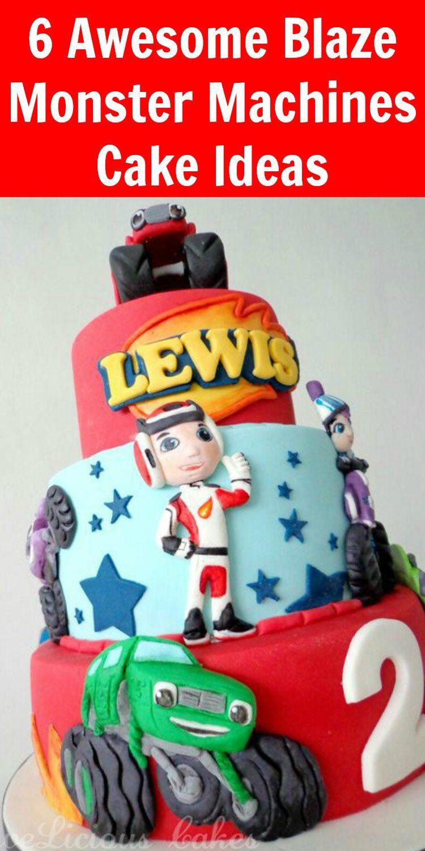 blaze monster truck birthday cake kids u0027 birthday ideas
