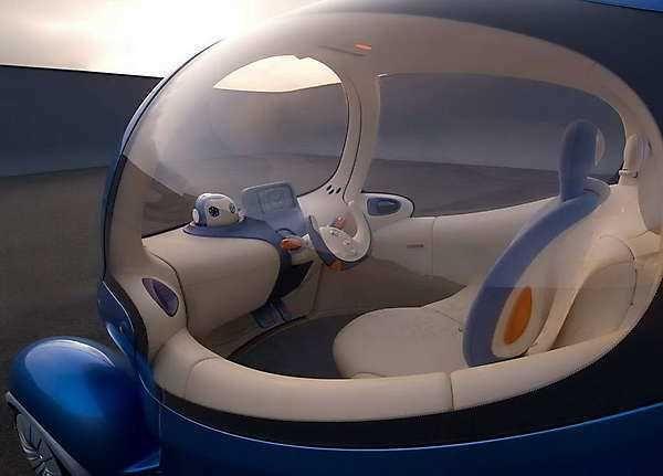 2018 2019 Nissan Pivo 3 Concept A Compact Urban Electric Car Of