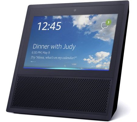 Amazon Echo Show with Smart Plug, Music Offer, & Audible