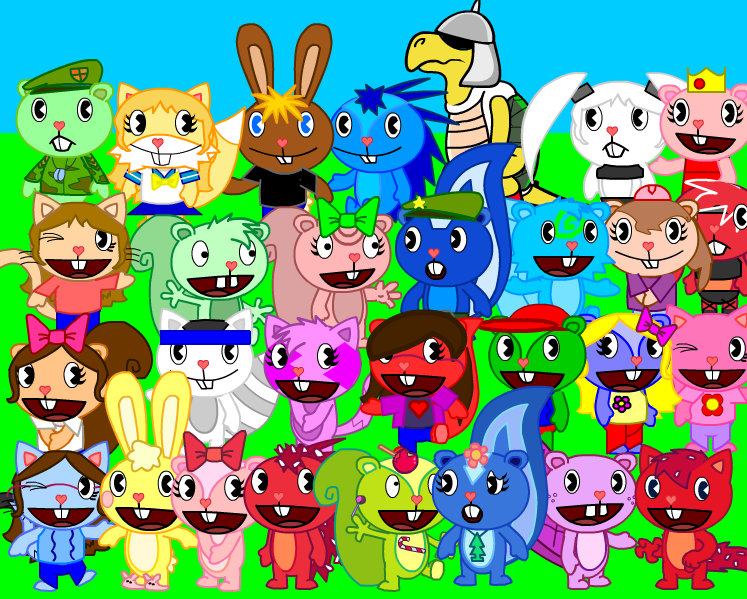 Thanks to Re L ; ) / cartoon :: happy tree friends ...
