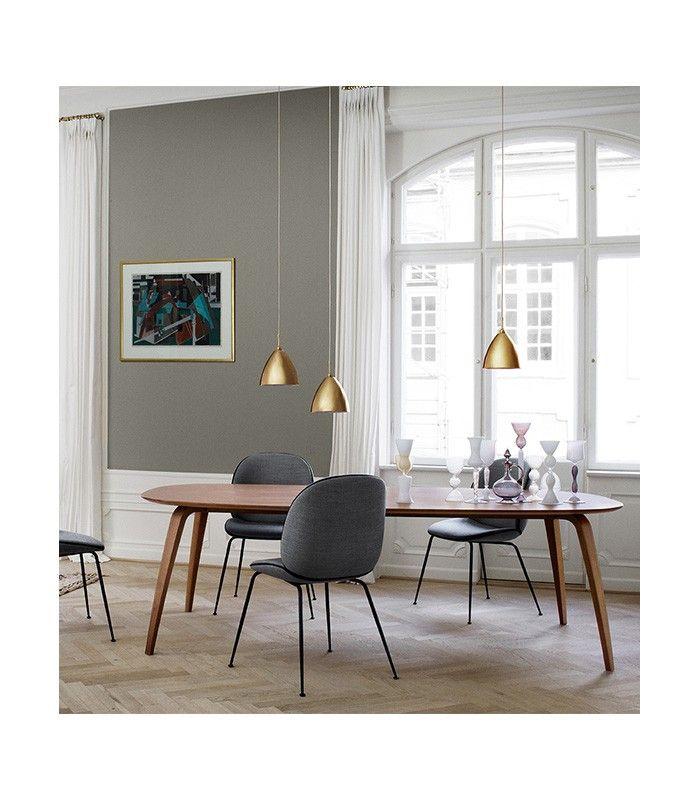 Dining table ellipse d co table salle manger mobilier design et mobilier de salon for Deco mobilier design