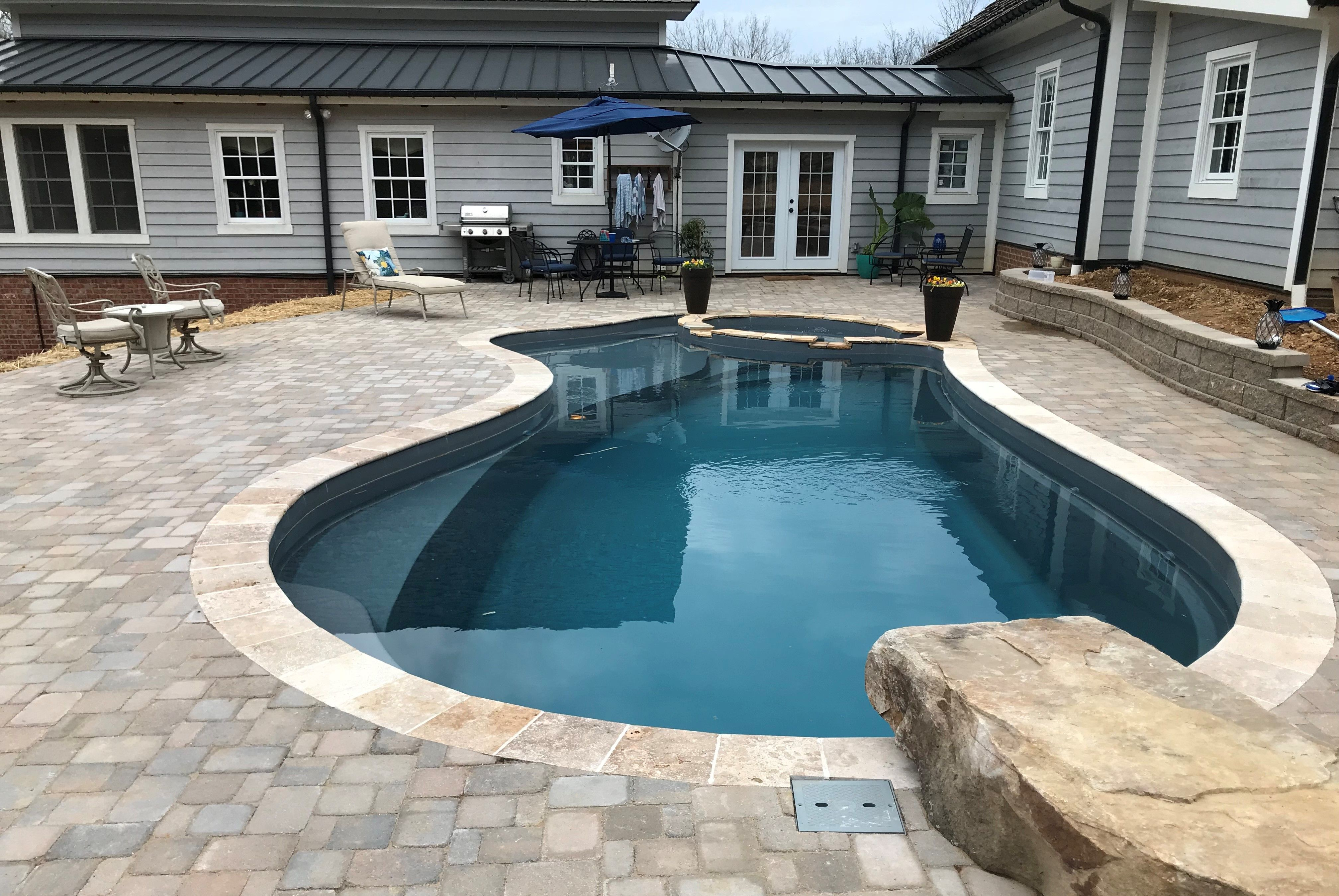 Hiness Is Another Successful Installation By Lakes Pools This Time In Johnson City Tn