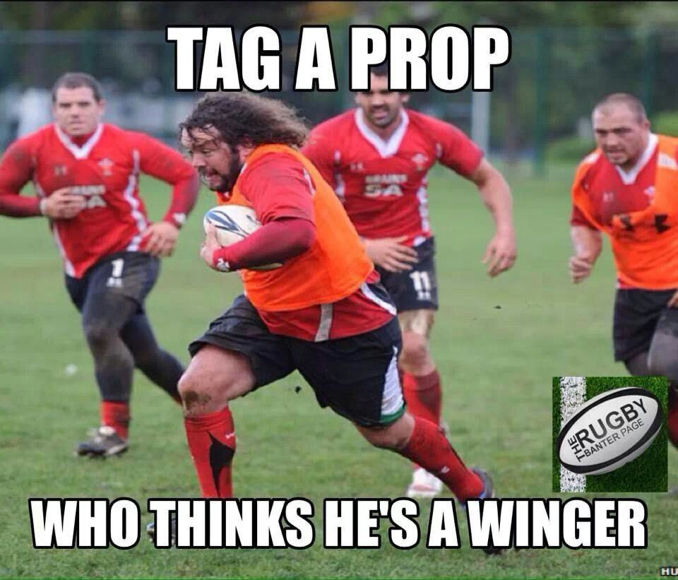 This Used To Be Me Due To Age And Lack Of Fitness I Now Know I Am A Prop Rugby Quotes Rugby Sport Rugby Memes