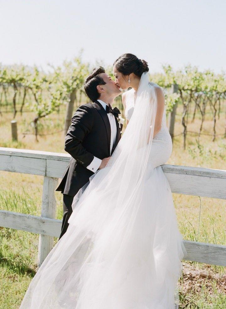 Elegantly Chic Sonoma Wedding at Ramekins Romantic wedding dresses