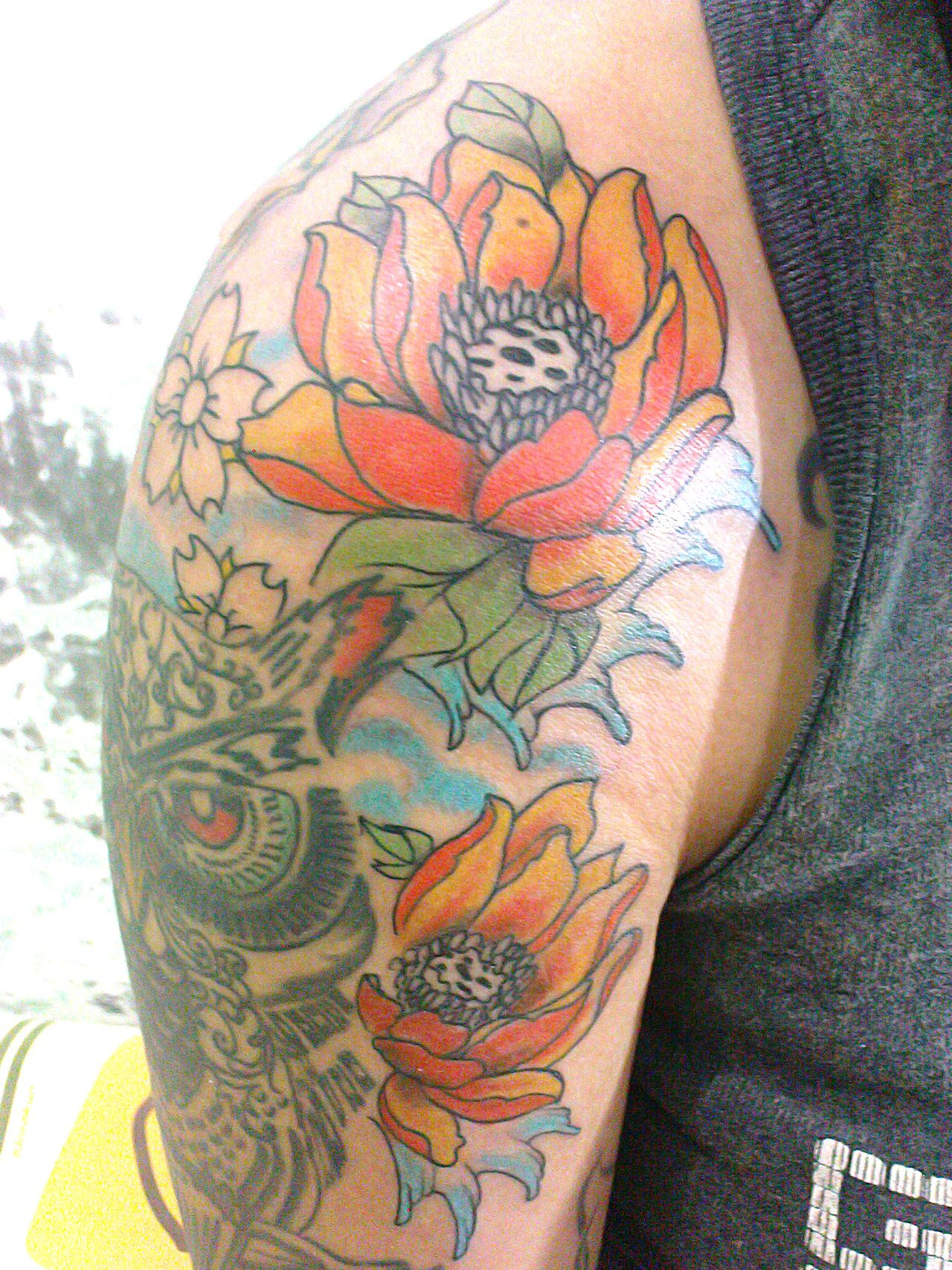 30 lotus flower tattoos design ideas for men and women akt lotus flower tattoos 12 izmirmasajfo