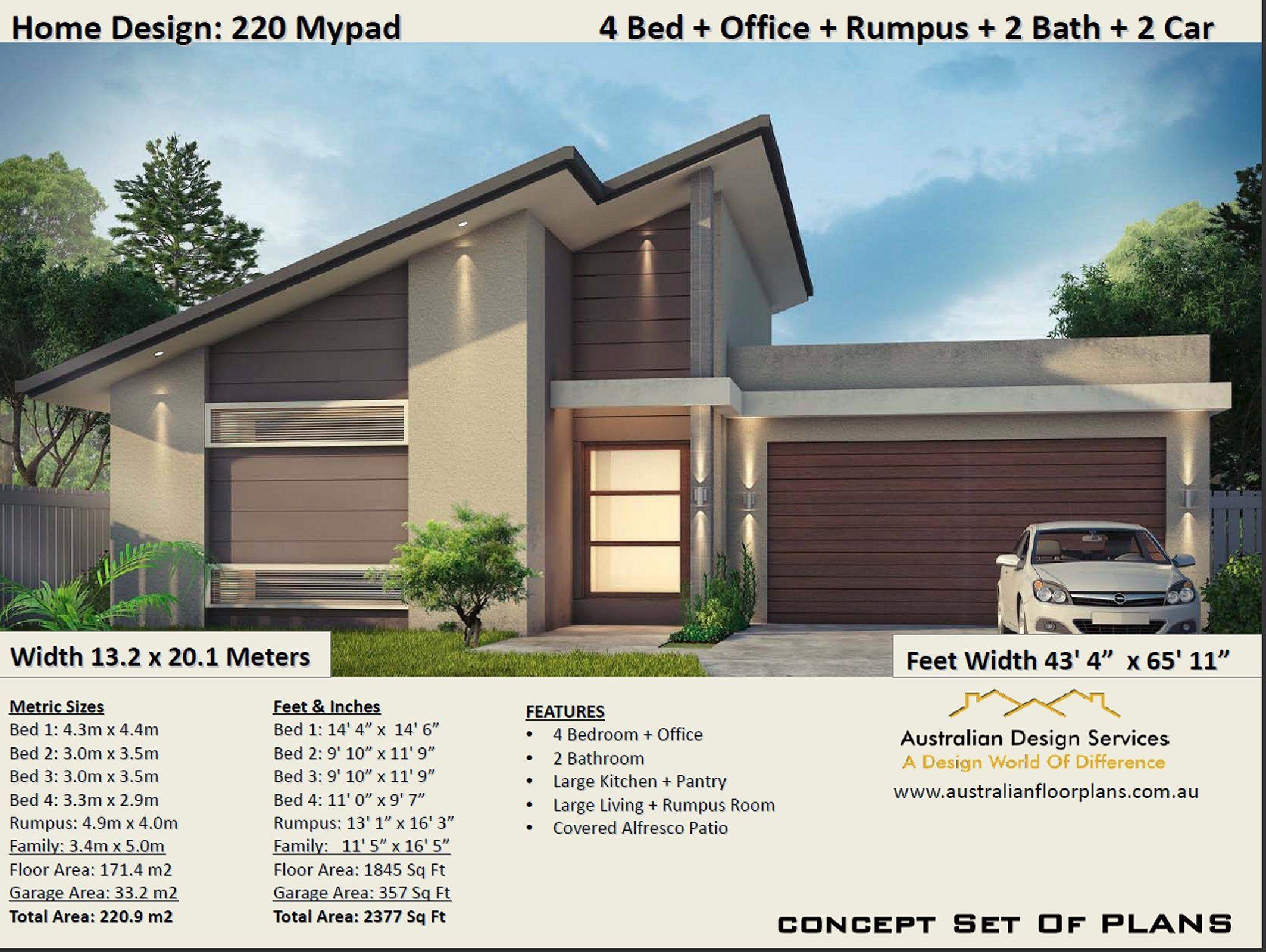 220 M2 2377 Sq Feet 4 Bed Narrow Lot House Plannarrow Etsy In 2020 Narrow Lot House Plans Home Design Floor Plans Narrow Lot House