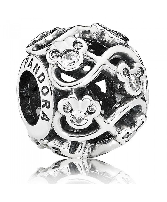 cbb217096 Pandora Disney Mickey And Minnie Mouse Minnie And Mickey Infinity Charm  Outlet