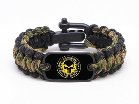 Regular Survival Bracelet - Chris Kyle Memorial - Military