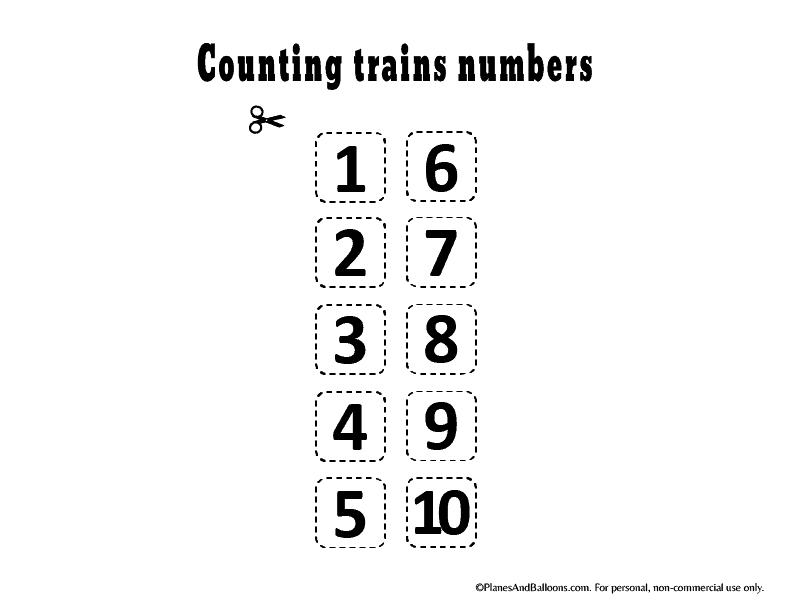 Preschool Number Worksheets 1 10 Free Printable Planes Balloons Let S Make Learning Fun Preschool Number Worksheets Numbers Preschool Number Worksheets