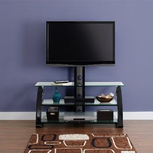 Zline Spar Flat Panel 3in1 TV Stand, for TVs up to 55