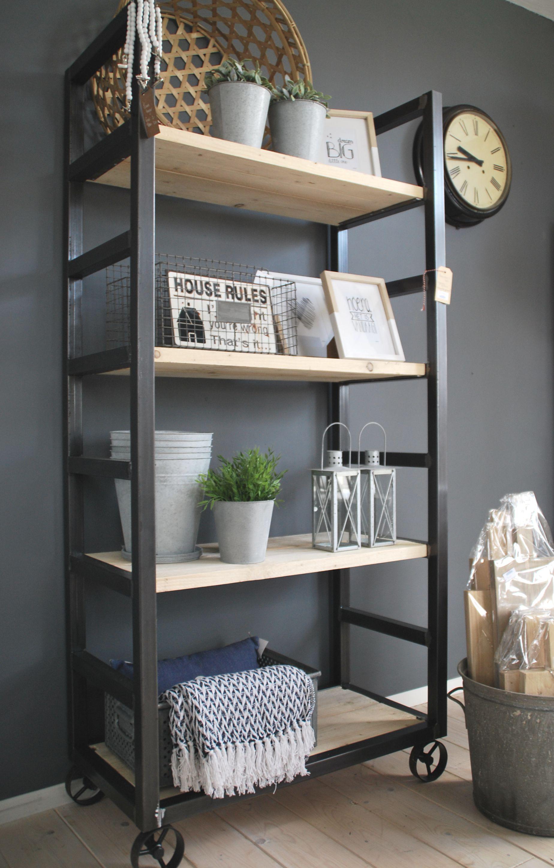 Bakkerskar Interieur Kast Op Wielen Huis Interieur En