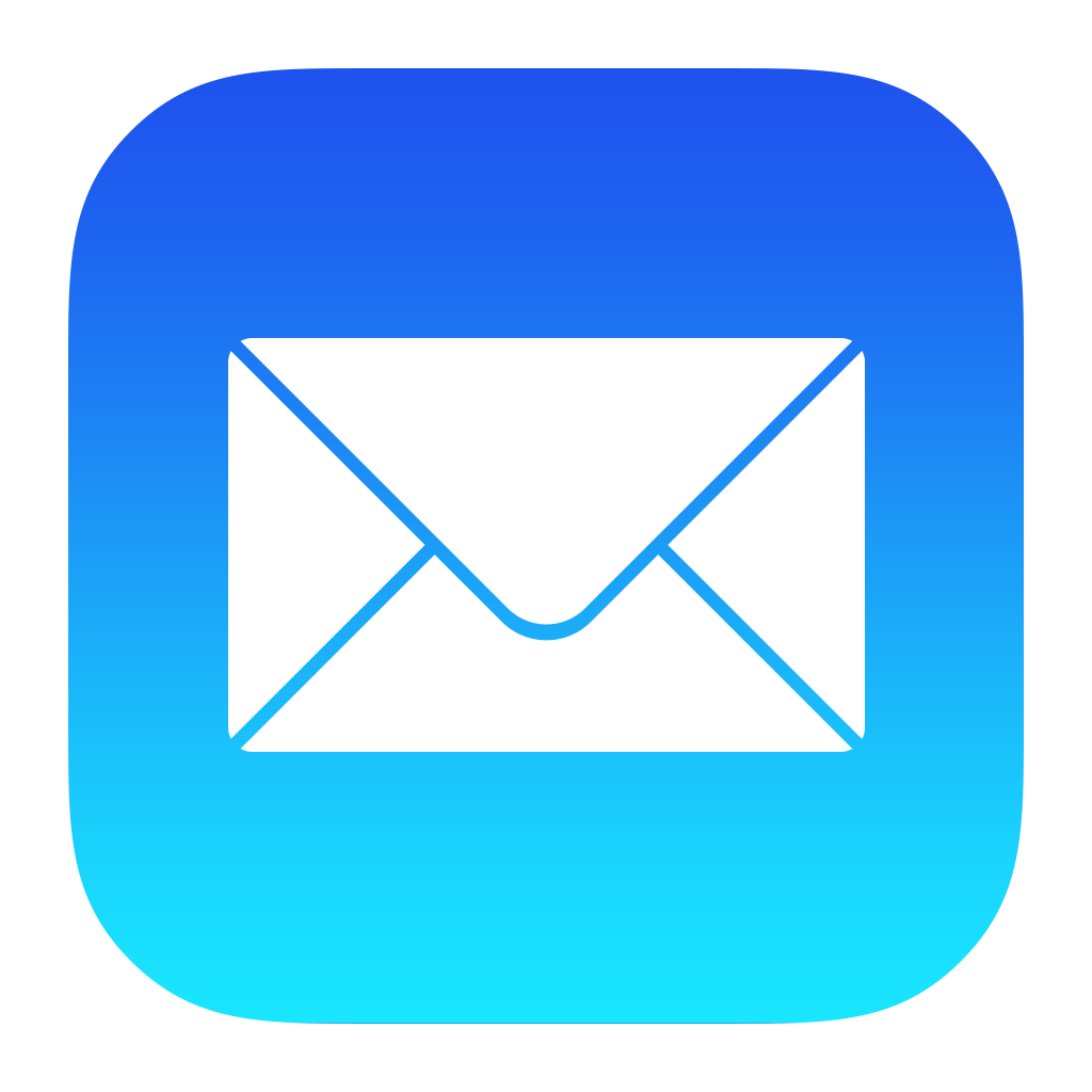 Mail Icon PNG Image | Mail icon, Icon set design, App icon design