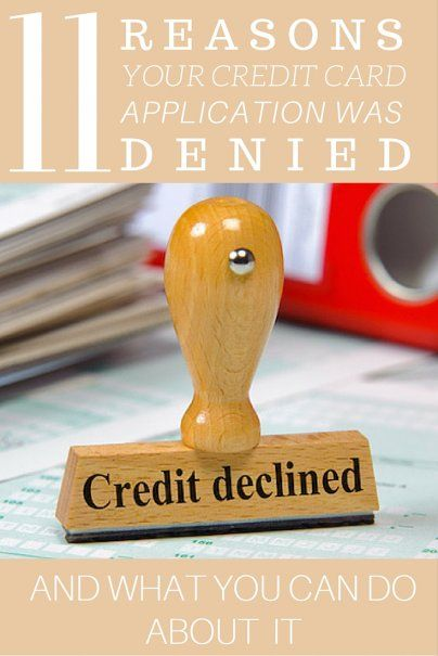 11 Reasons Your Credit Card Application Was Denied u2014 And What You - credit application