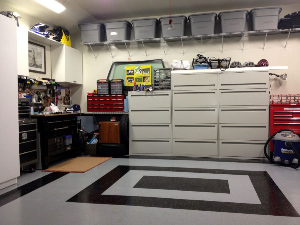 The before after thread let s see your garage shed or for Garage transformation