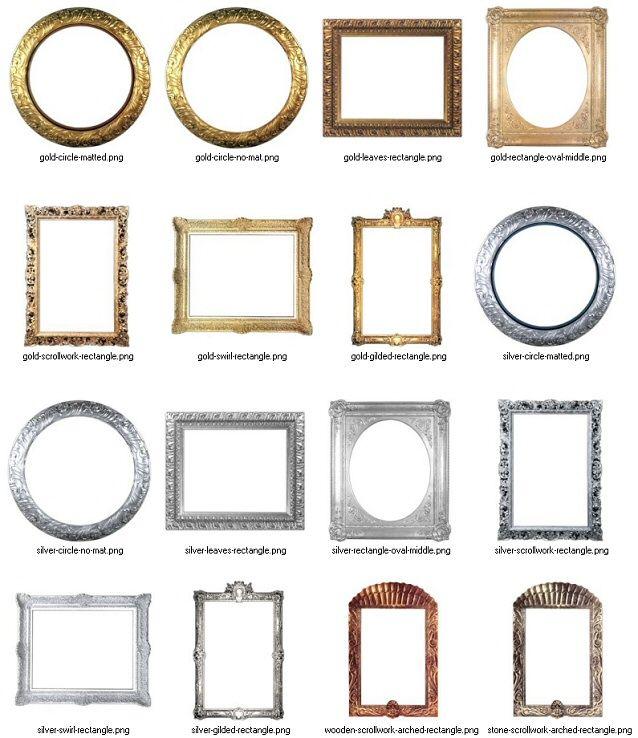 Free Digital Scrapbook Frames To Download Scrapbook Frames