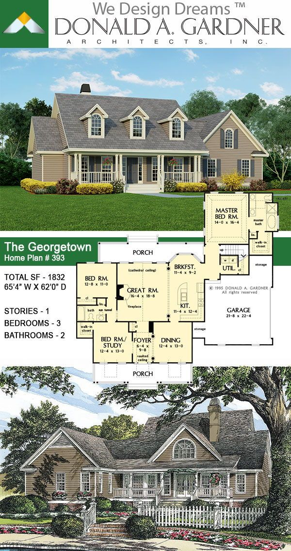 Southern Living House Plan In 2020 Farmhouse Style House Plans Lake House Plans Dream House Plans
