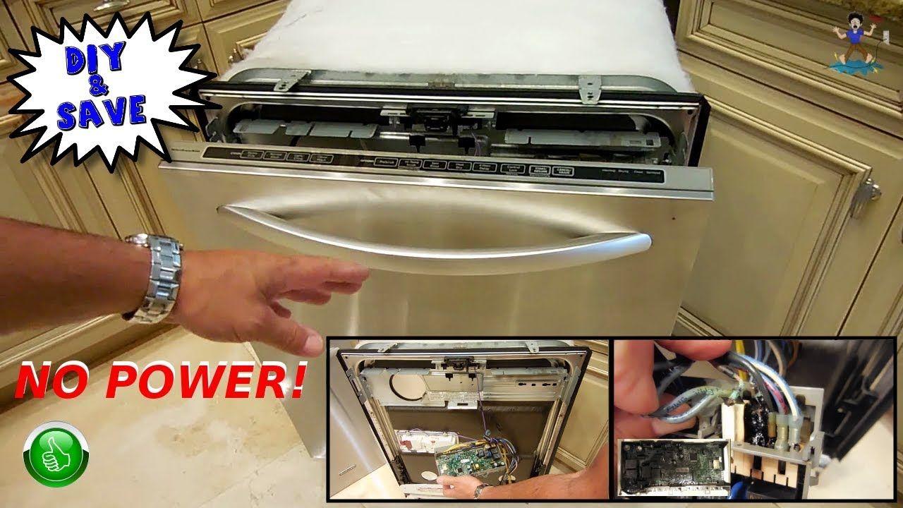 Kitchenaid Dishwasher Repair No Power Burning Smell Dishwasher Repair Kitchenaid Dishwasher Repair Kitchenaid Dishwasher