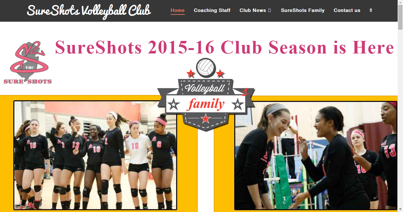 Sure Shots Volleyball Club Volleyball Clubs Coaching Club