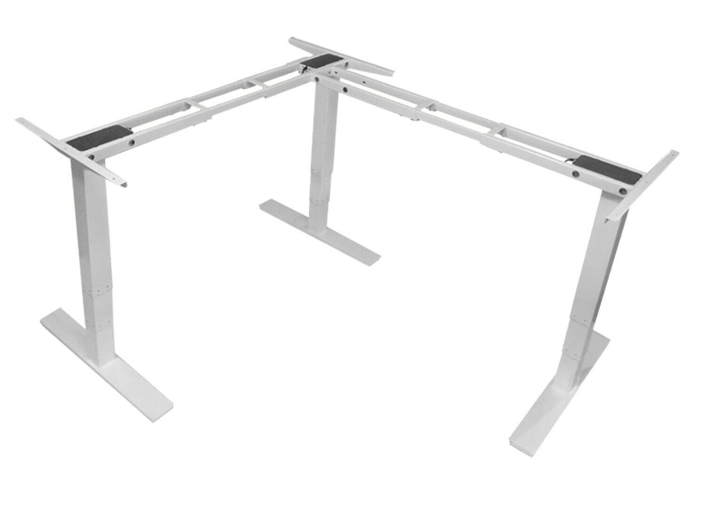 Exeta Ergoeck Weiss 90 Grad Tischgestell Schreibtisch Hohenverstellbar Elektrisch Ebay Elektrischer Schreibtisch Schreibtisch Tischgestell
