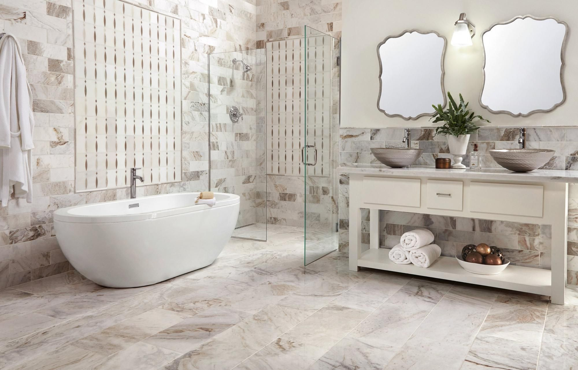 Pin By Karen Crum On Home In 2020 Floor Decor Bathroom Design Polished Marble Tiles