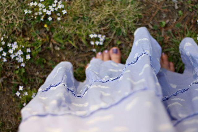 springtime skirt by ruth p clark, via Flickr