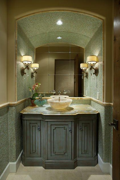 contemporary bathroom by Hallmark Interior Design LLC Beautiful