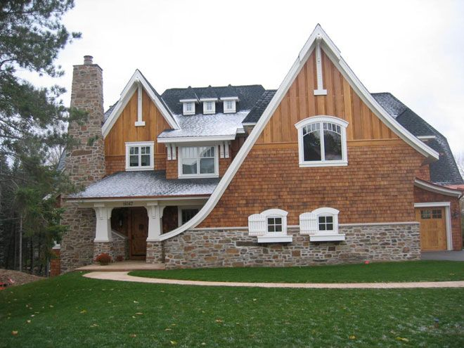 Vertical Wood Siding Tudor Style Homes House Exterior House Styles