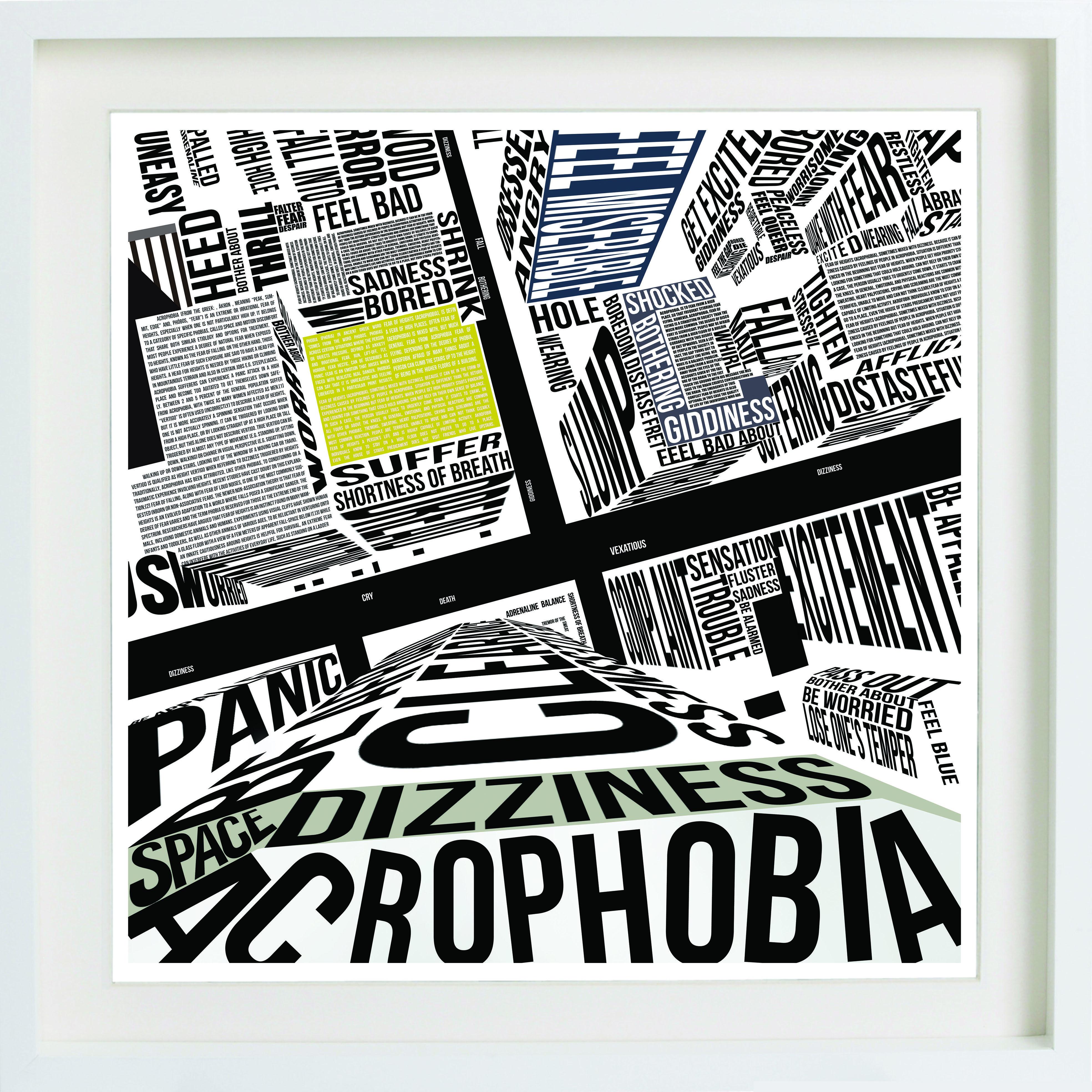 Sebnem Turan - #Acrophobia #typography