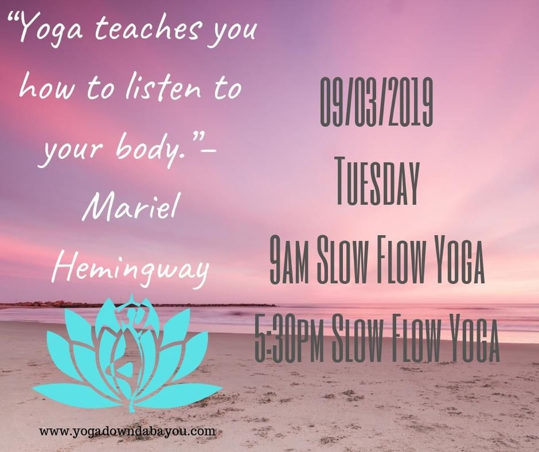Schedule for today y'all.  Remember to listen to your body before it starts screaming and you have n...