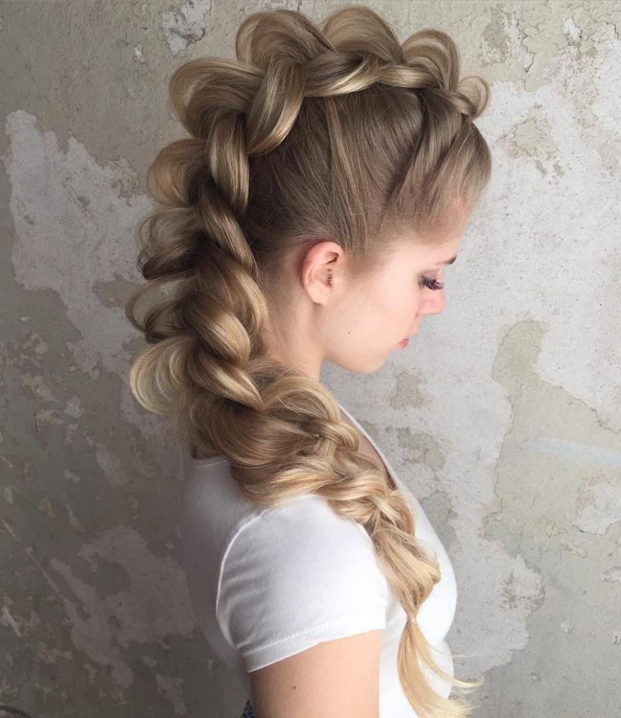 gorgeous braided hairstyles for long hair hair pinterest
