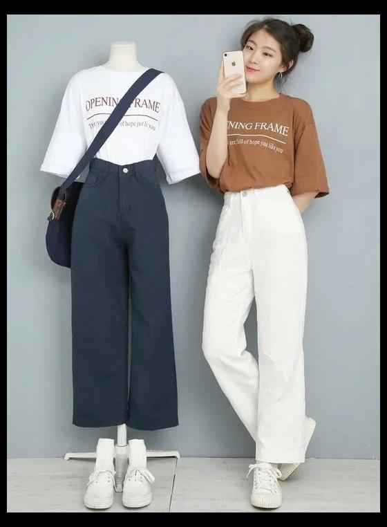 fashion outfits teenage korean