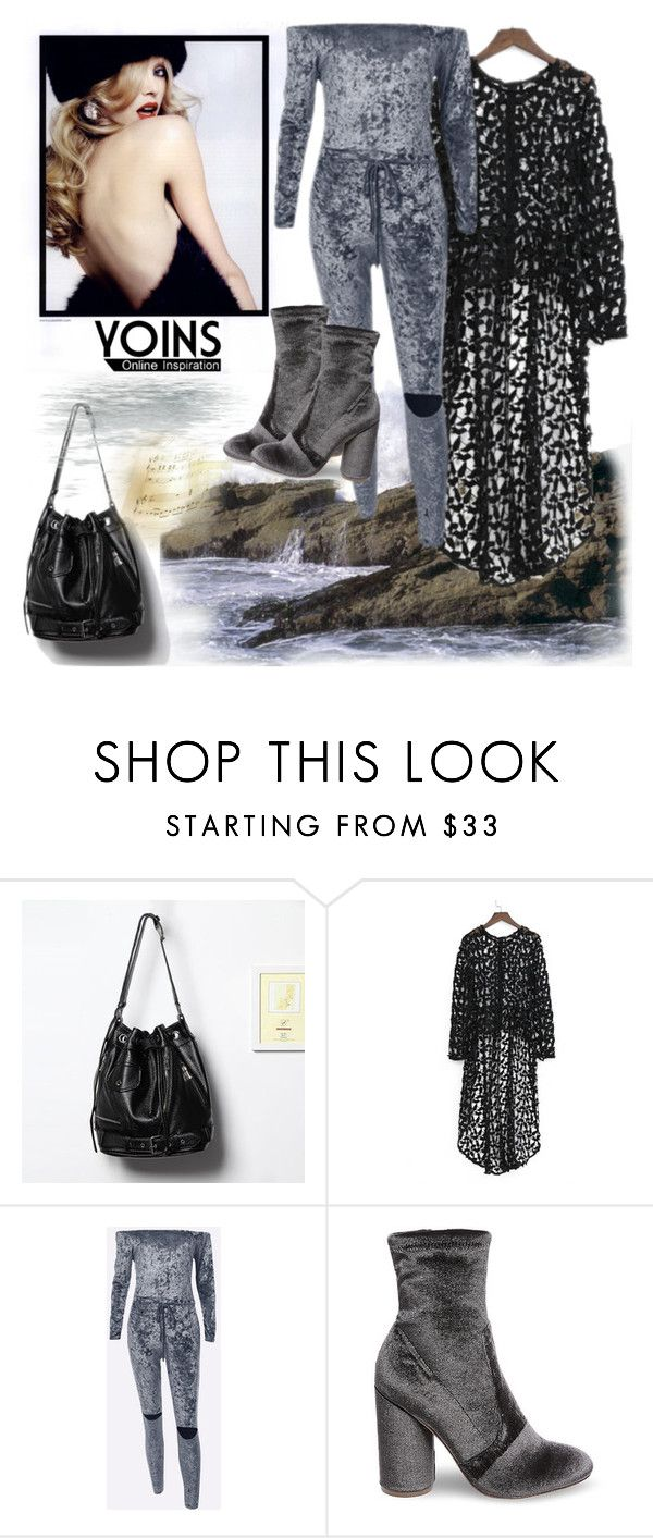 """Yoins-09 (49)"" by irinavsl ❤ liked on Polyvore featuring Steve Madden, yoins, yoinscollection and loveyoins"