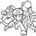 Video Games Archives - Best Coloring Pages For Kids | Super mario ...