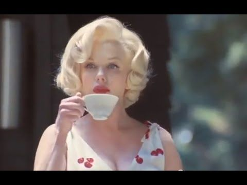 Marilyn Monroe Mercedes Funny Commercial Mercerdes GLK SUV James Dean CA...