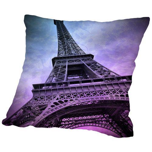 Found it at Wayfair - Modern Art Paris Eiffel Tower Throw Pillow