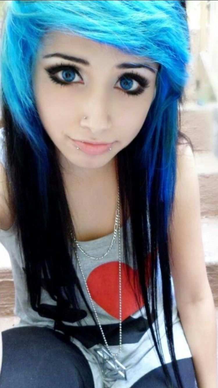 Pin by rabiya on emo girl in pinterest scene hair hair and