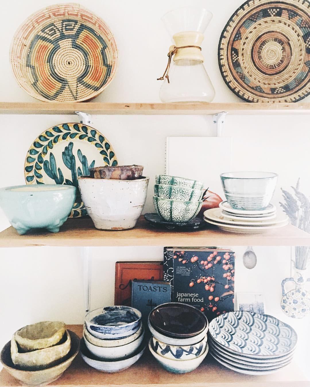 "Anna Louise | Portland, Oregon on Instagram: ""Morning shelfie ..."